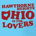 Hawthorne Heights Ohio is for Lovers Juniors T-Shirt