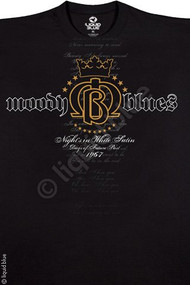 The Moody Blues Crest Mens Tee Shirt