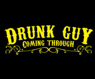 Drunk Guy Coming Through Mens Tee Shirt