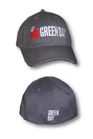 Green Day Grenade Logo Flex Fit Hat
