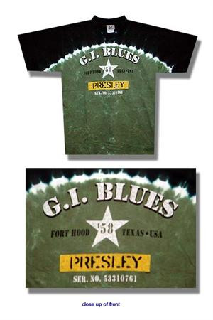 Elvis Presley GI Blues Tie Dye Tee Shirt