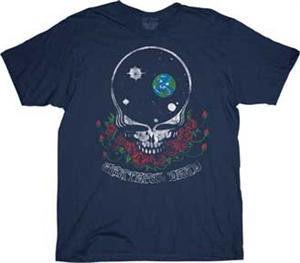 Grateful Dead Space Your Face Mens Tee Shirt