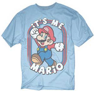 MARIO BROTHERS ITS ME MARIO MENS TEE SHIRT