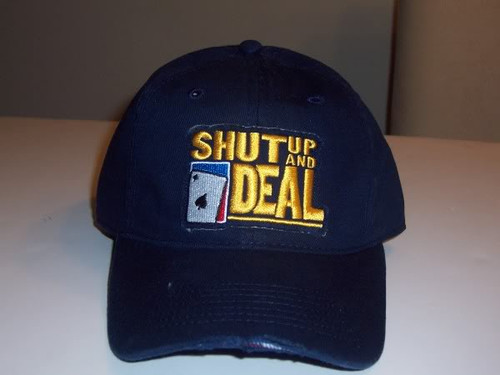 World Poker Tour Shut Up and Deal Hat