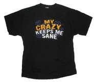 My Crazy Keeps Me Sane Mens T-Shirt