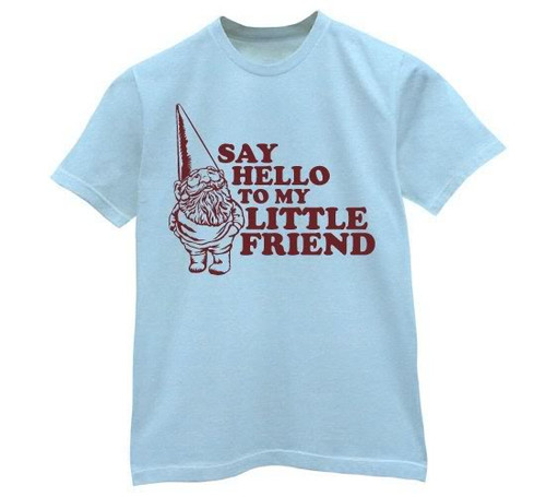 Say Hello To My Little Friend Mens Tee Shirt