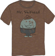 DAVID & GOLIATH LITTLE LOSERS MR. SHITHEAD VINTAGE MENS TEE SHIRT