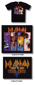Def Leppard Greatest Hits Mens Tee Shirt