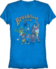 Kelloggs The Breakfast Club Cereal Character Vintage Style Tee Shirt