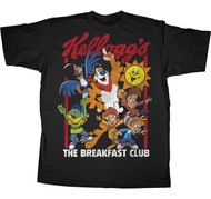 Kelloggs The Breakfast Club Cereal Character Mens Tee Shirt