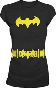 Batgirl Costume Juniors Tee Shirt