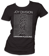 JOY DIVISION UNKNOWN PLEASURES JUNIORS TEE SHIRT