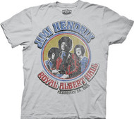 Jimi Hendrix Royal Albert Hall Mens Tee Shirt