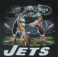 New York Jets Stance NFL Mens Tee Shirt