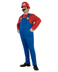 Deluxe Super Mario Brothers Mario Mens Costume