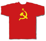 Soviet Union Hammer Sickle Mens Tee Shirt
