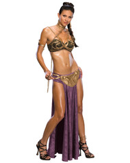 Sexy Star Wars Princess Leia Slave Womens Costume