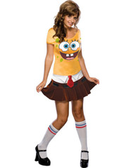 Sexy Spongebob Squarepants Womens Costume