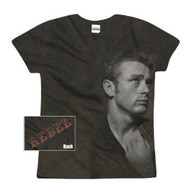 James Dean Rebel Vintage Style Juniors Tee Shirt