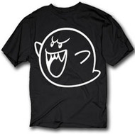 Nintendo Ghost Mens Tee Shirt