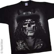 Slash Skull Mens Tee Shirt