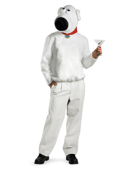 Family Guy Brian Mens Costume