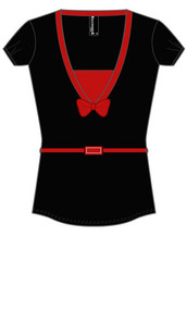 Lady Luck V-Neck T-Shirt