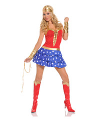 Sexy Wonderlicious Super Hero Costume