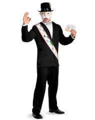 Mister Monopoly Mens Costume
