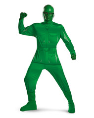 Toy Story Green Army Man Deluxe Mens Costume