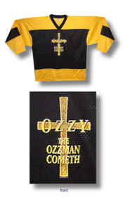 Ozzy Osbourne The Ozzman Cometh Hockey Jersey
