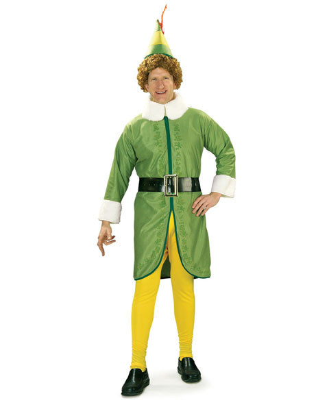Buddy The Elf Mens Costume