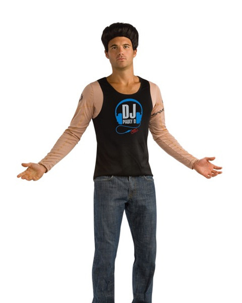 The Jersey Shores Pauly D Mens Costume