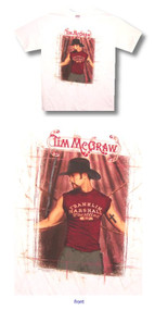 Tim McGraw Cross Adult T Shirt
