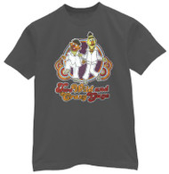 Sesame Street Bert and Ernie Wild and Crazy Guys Mens TShirt
