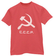 Soviet Union CCCP Mens Tee Shirt