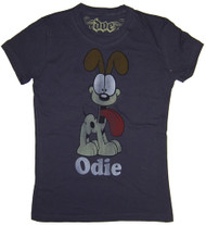 Garfield Odie Vintage Juniors T-Shirt by Doe