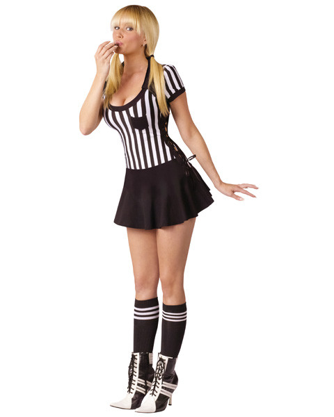 Sexy Racy Referee Womens Costume