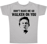 Saturday Night Live Chistopher Walken Go Walken on You Mens T Shirt