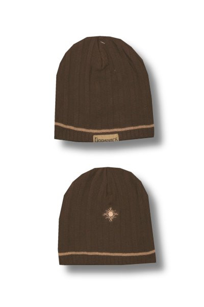 Godsmack Brown Ribbed Beanie