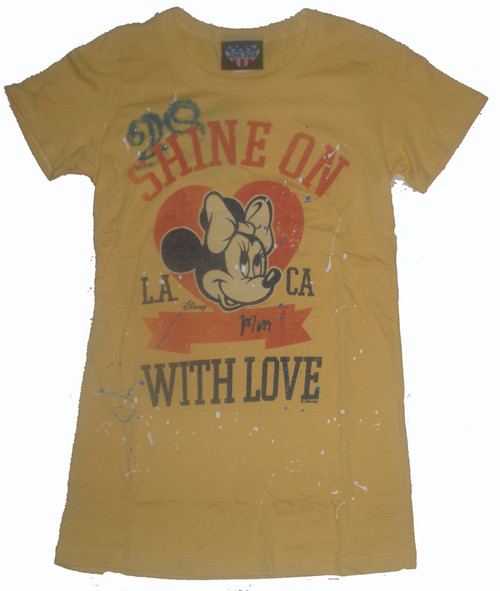Minnie Mouse Shine On T Shirt by Junk Food Clothing