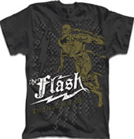 DC Comics The Flash Mens Retro Tee Shirt