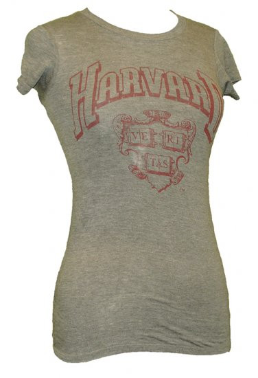 Harvard Vintage Style Juniors Tee Shirt by Chaser