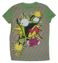 Invader Zim Scary Monkey Show Juniors T-Shirt by Mighty Fine