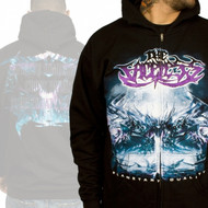 The Faceless Planetary Duality Zipper Mens Hoodie