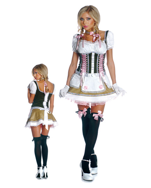 Womens 3-Piece Heidi-Ho Costume