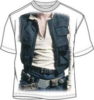Star Wars Hans Solo Costume T Shirt