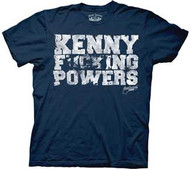 Eastbound & Down Kenny F cking Powers Mens Tee Shirt