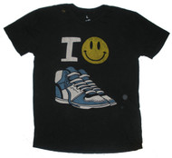 Smiley Sneakers Mens T-Shirt