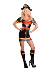 Sexy Smokin Hot Fire Fighter Costume